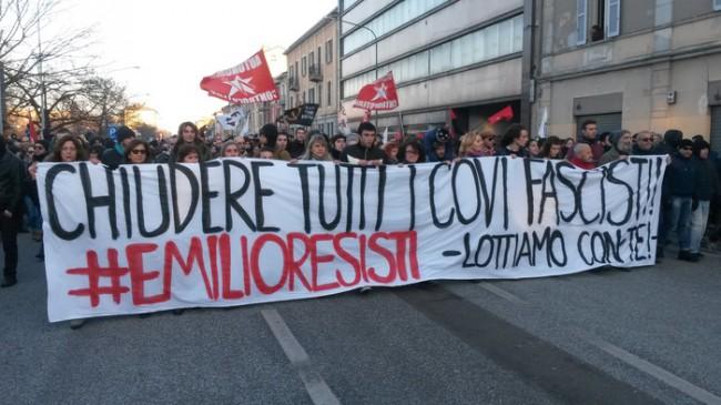 Scontri Cremona: oltre duemila a corteo antifascista